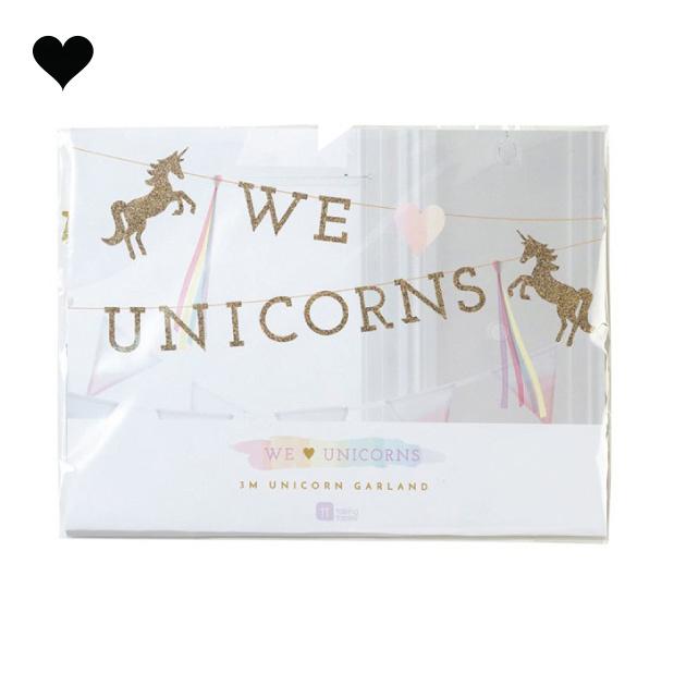 We heart unicorns slinger (3 m)- Talking Tables-2