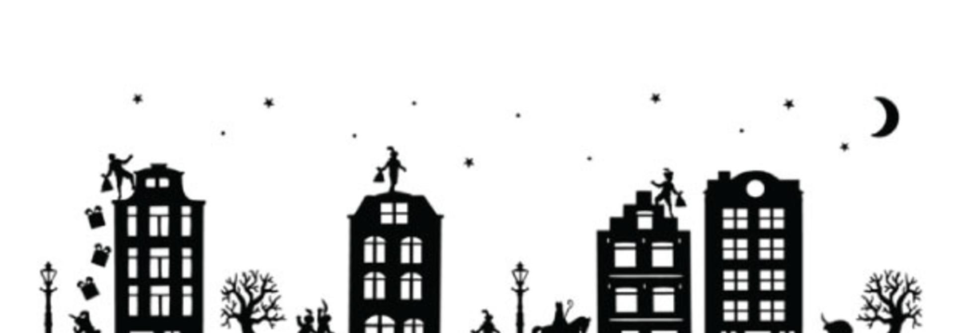 Sinterklaas raamsticker DIY