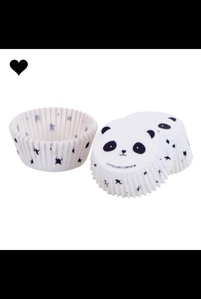 Panda cupcake vormpjes (50st) A little lovely company