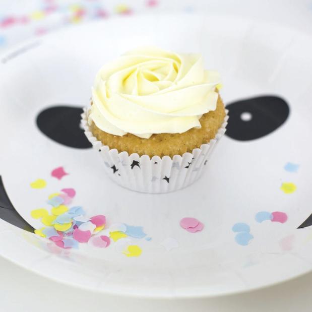 Panda cupcake vormpjes (50 st) - A little lovely company-2