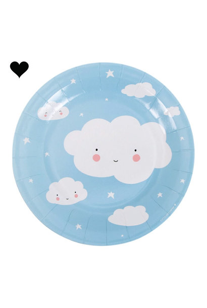 Wolken bordjes (12st) A little lovely company