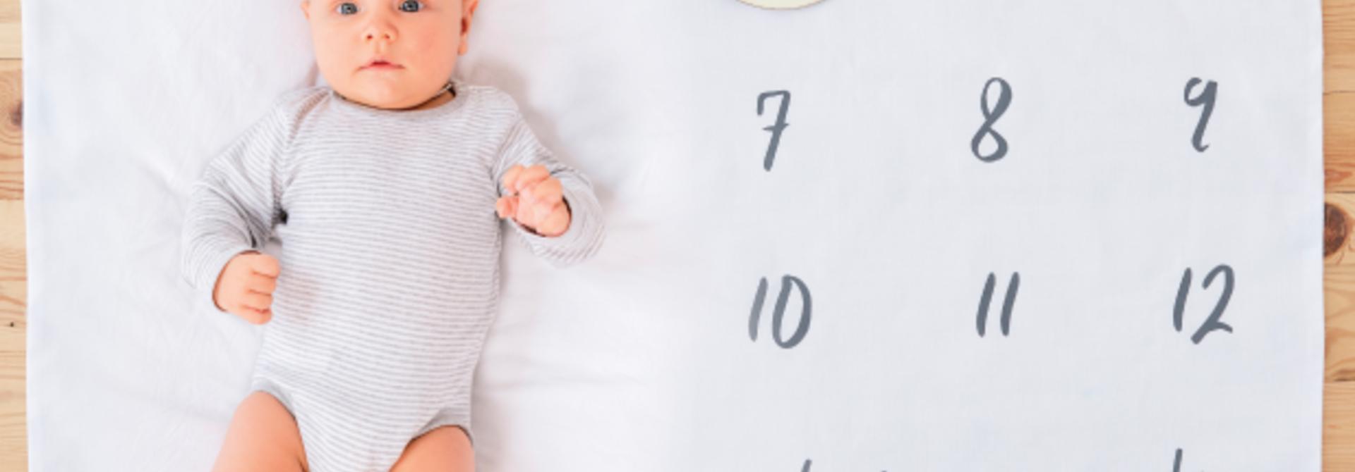 Baby milestone pakket oh baby - Ginger Ray