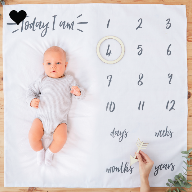 Baby milestone pakket oh baby - Ginger Ray-1