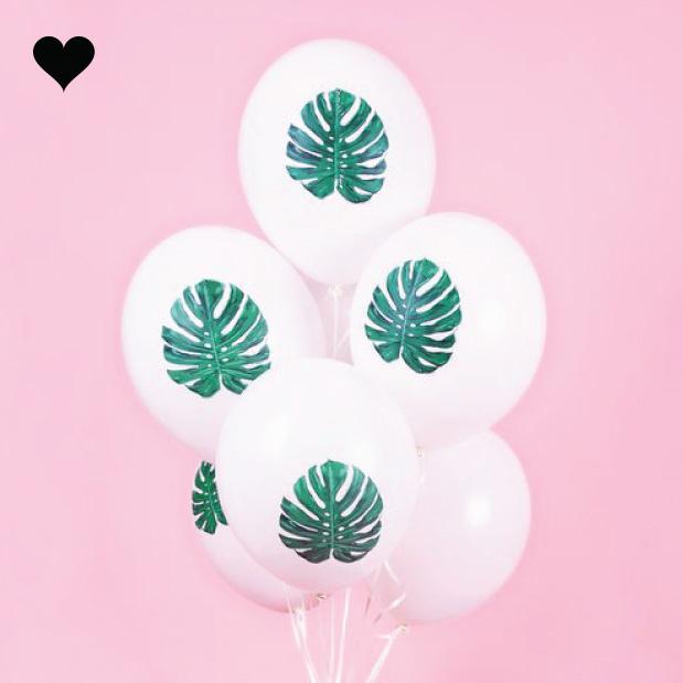 Tropische ballonnen (5 st)-3
