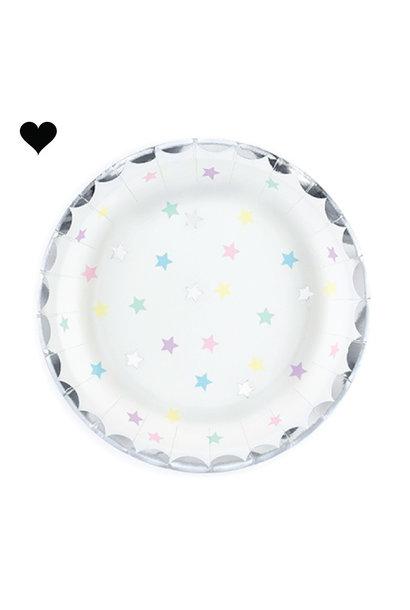bordjes sterren (6 st)-  Make a Wish