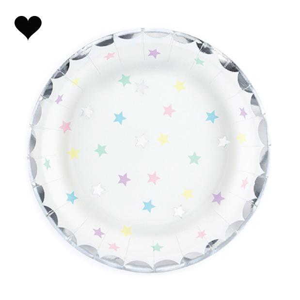 bordjes sterren (6 st)-  Make a Wish-1