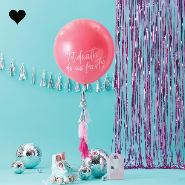 Till death do us party ballon kit - Ginger Ray-1