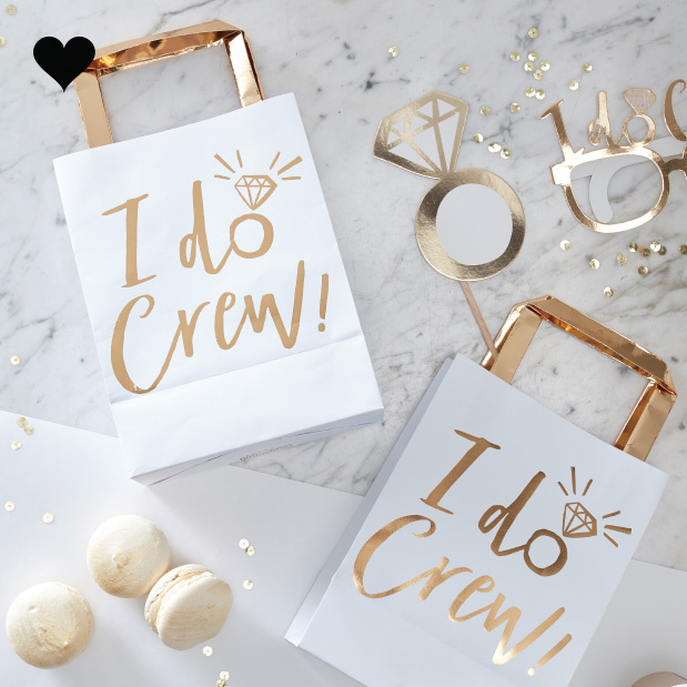 Goody Bags I Do Crew (5 st) - Ginger Ray-1