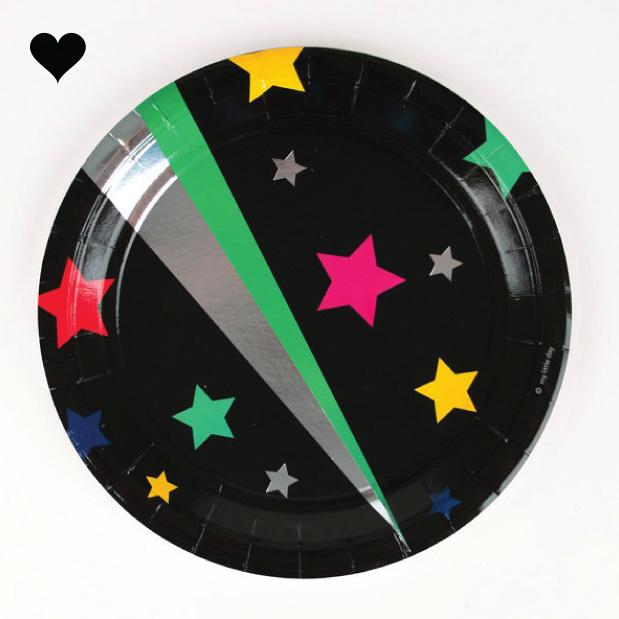 Disco bordjes (8 st) - My Little Day-1
