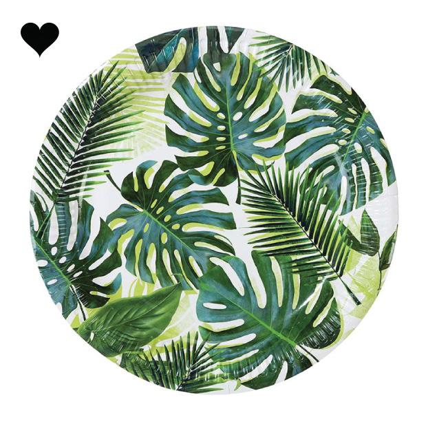 Bordjes tropical fiesta (8 st) - Talking Tables-1