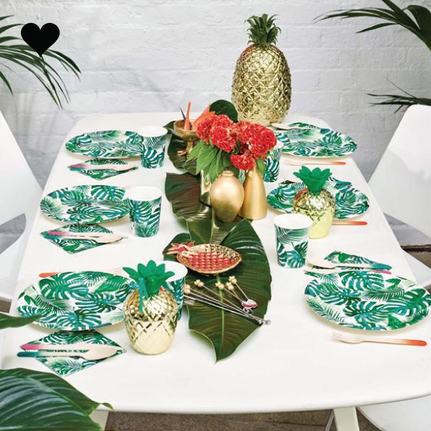 Bordjes tropical fiesta (8 st) - Talking Tables-3
