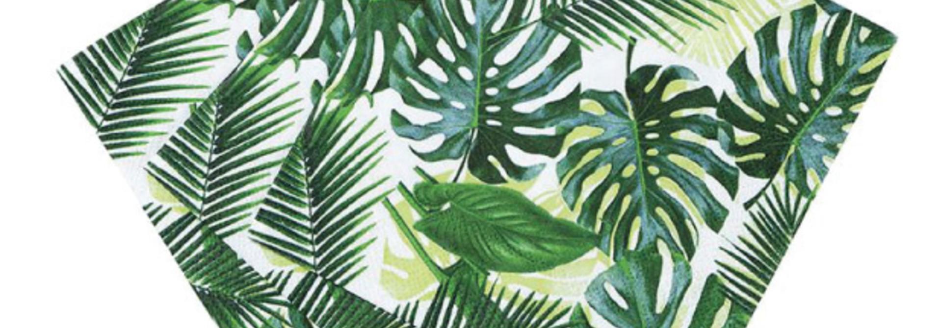 Servetten tropical fiesta (20 st) - Talking Tables