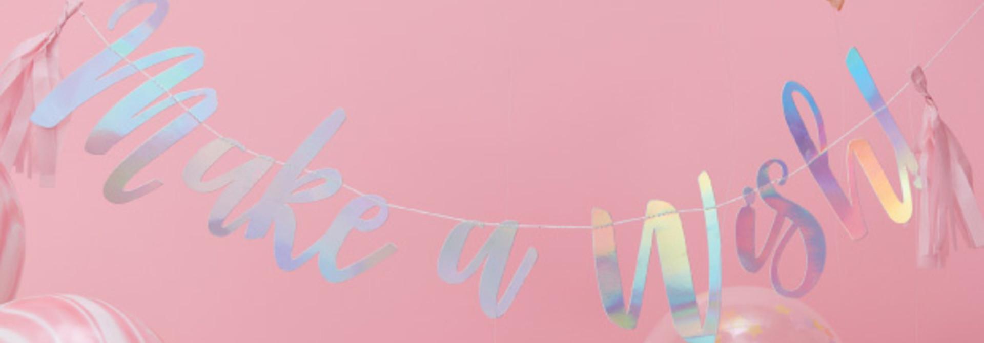 Make a wish slinger - Ginger Ray