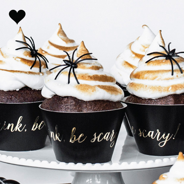 Trick or treat cupcake wikkels (6st)-2