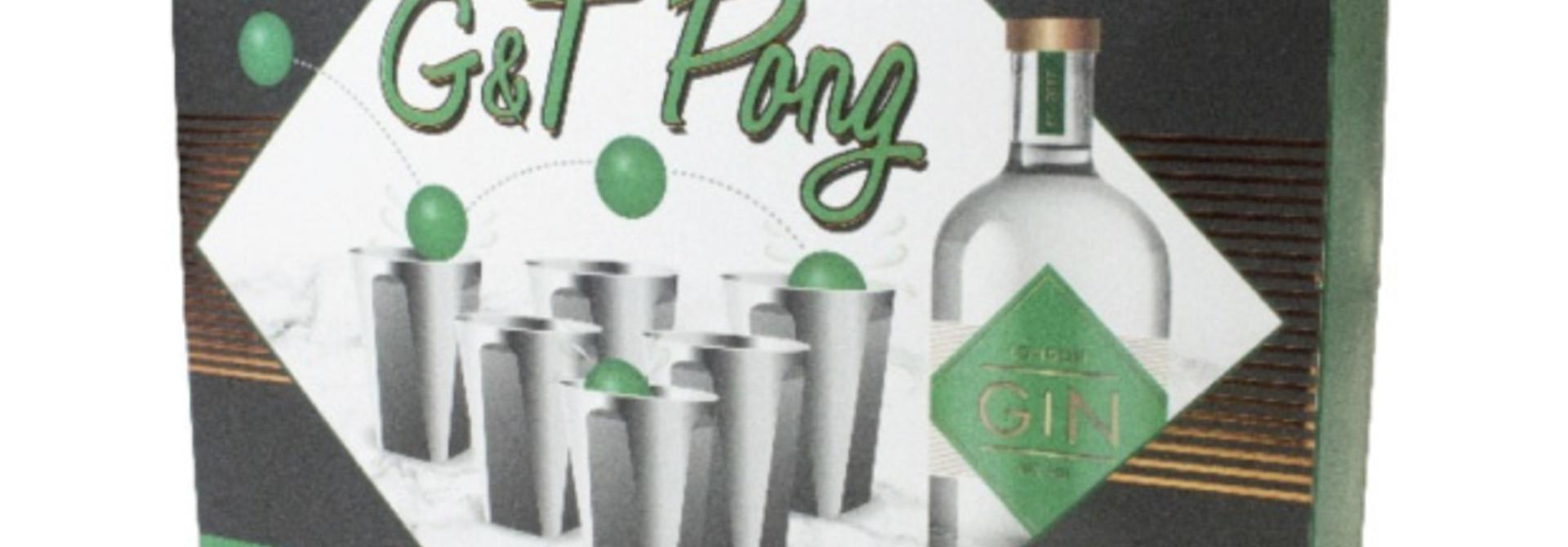 Gin & Tonic Pong - Talking Tables