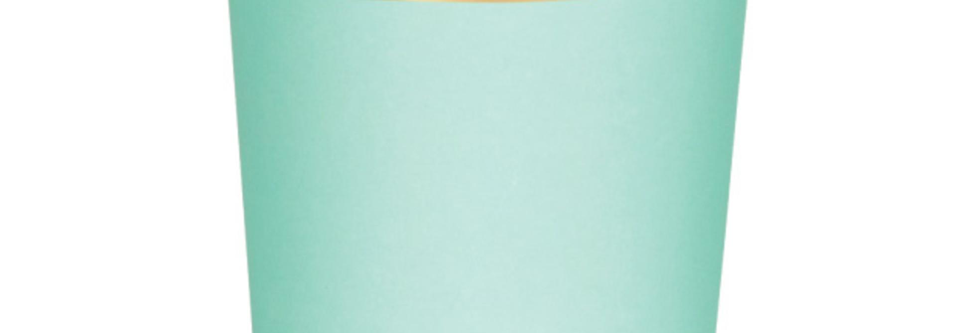 Tumbler mint beautiful basics (8 st) - Meri Meri