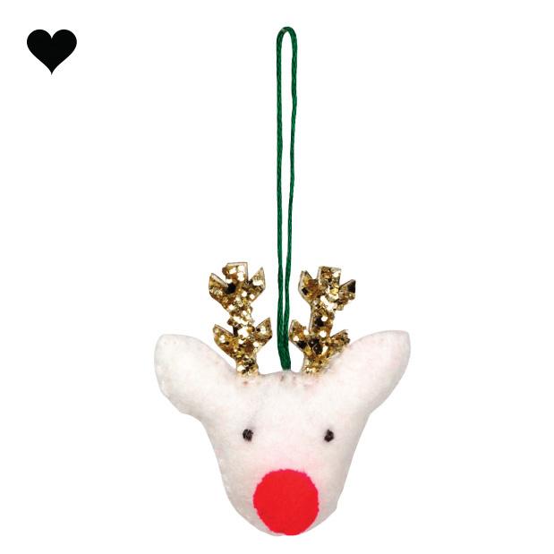 Kersthanger rendier set (3 st) - Meri Meri-3