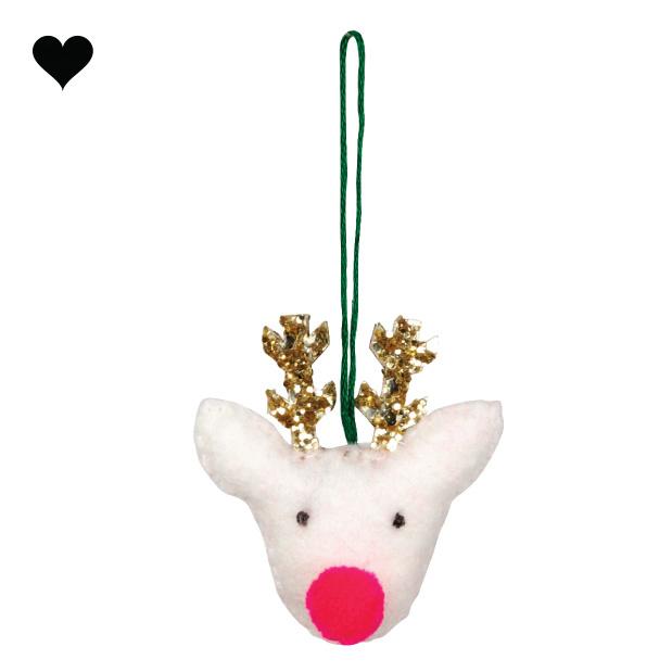 Kersthanger rendier set (3 st) - Meri Meri-5