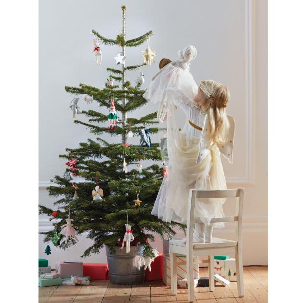 Kersthanger rendier set (3 st) - Meri Meri-6