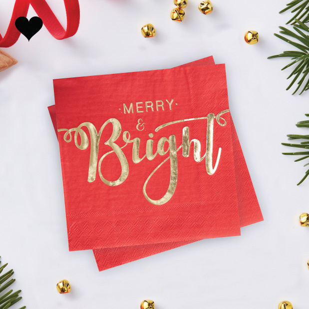 Servetten Merry and Bright (20st) Ginger Ray-1