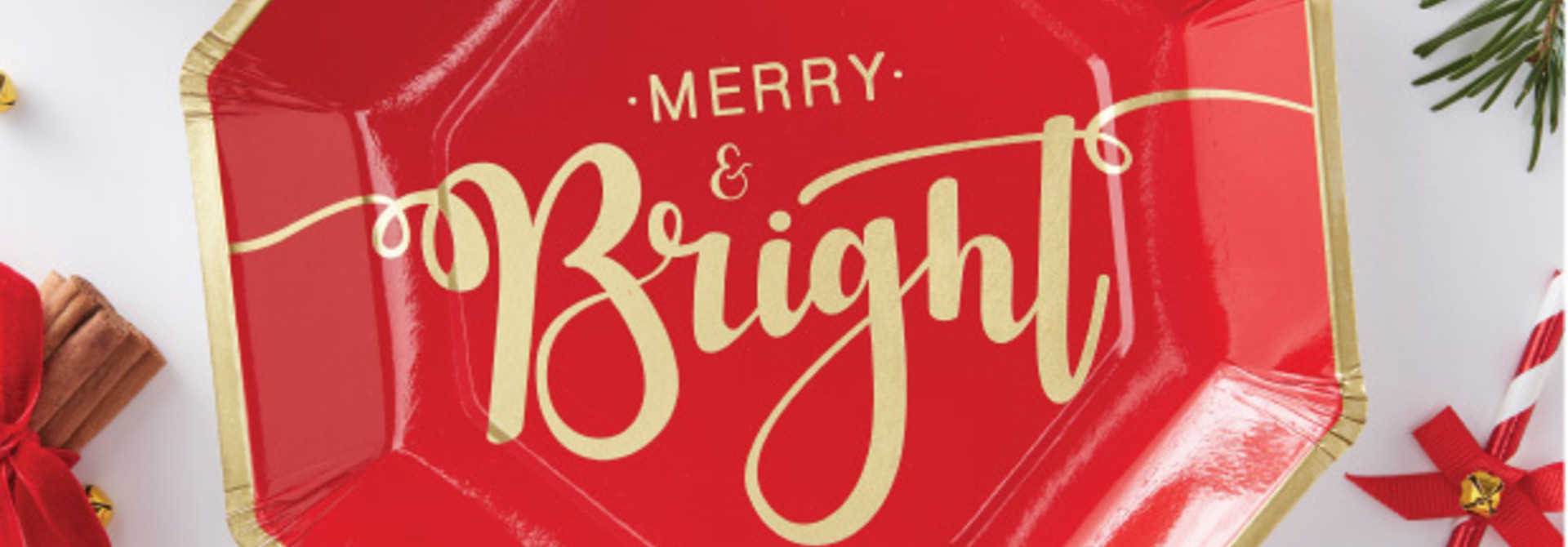 Bordjes Merry and Bright (8st) Ginger Ray