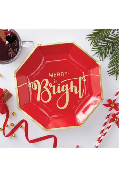 Bordjes Merry and Bright (8 st) - Ginger Ray