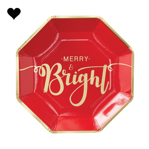 Bordjes Merry and Bright (8st) Ginger Ray-2