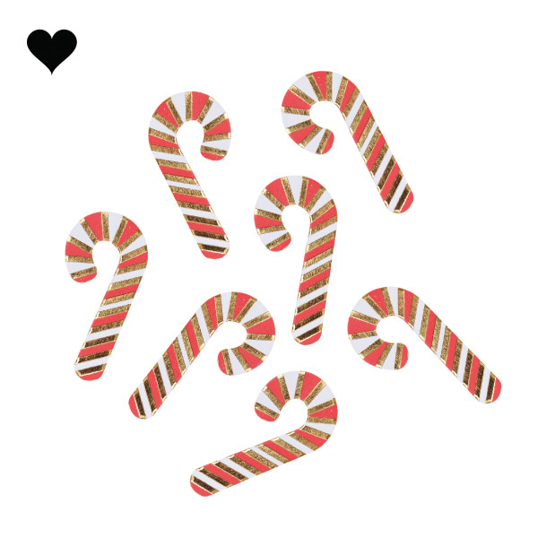 Confetti candy canes Ginger Ray-2
