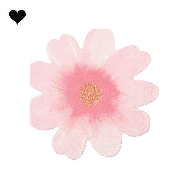 Wild flower servetten (16 st) - Meri Meri-4