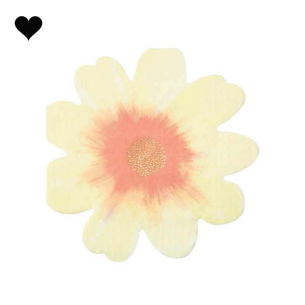 Wild flower servetten (16 st) - Meri Meri-6