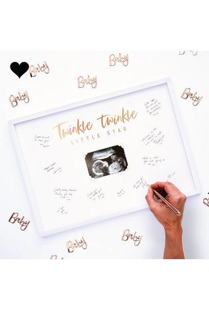 Gastenboek fotolijst Twinkle Twinkle - Ginger Ray