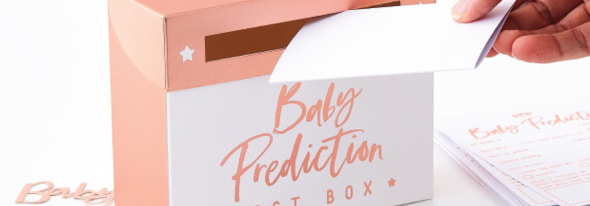 Babyshower voorspellingen spel Twinkle Twinkle -  Ginger Ray