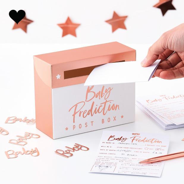 Babyshower voorspellingen spel Twinkle Twinkle -  Ginger Ray-1