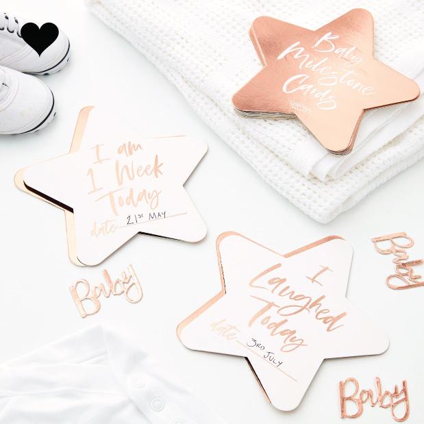 Baby Milestone kaarten (24st) Twinkle Twinkle-1