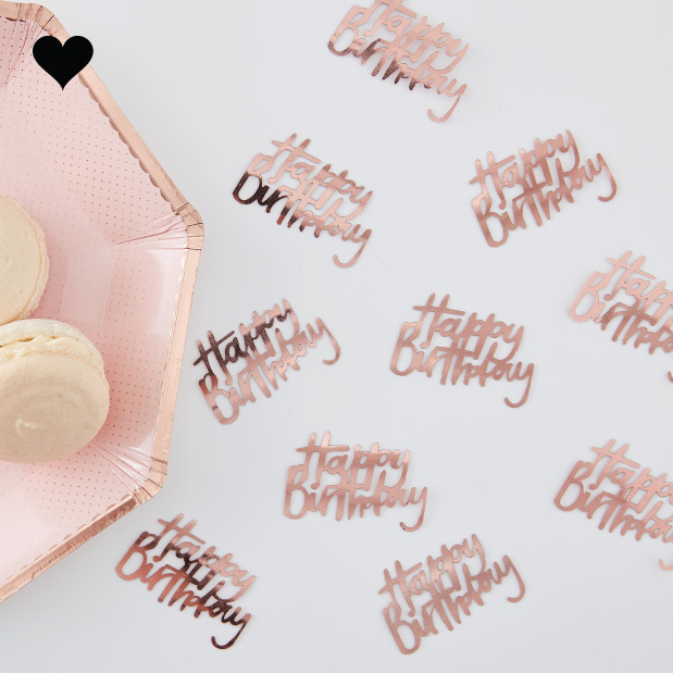 Tafelconfetti Happy Birthday Ditsy Floral - Ginger Ray-1