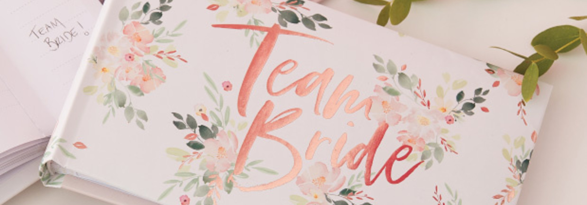 Team Bride fotoalbum Floral Hen Party - Ginger Ray