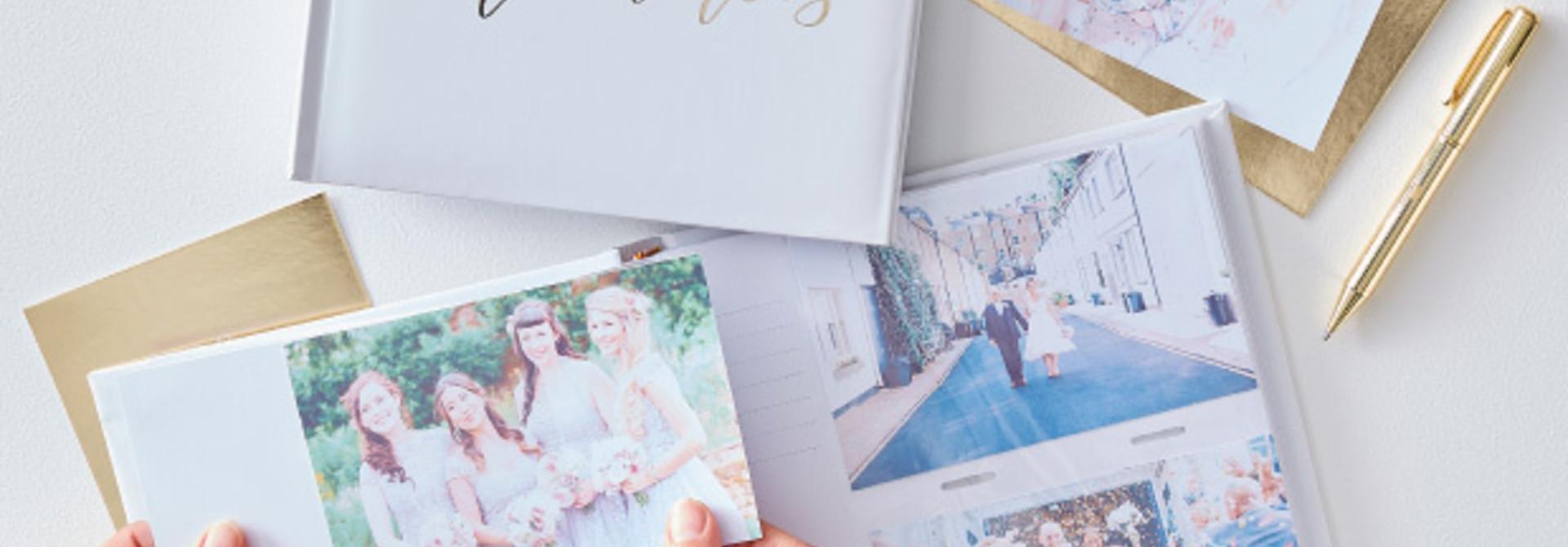 Fotoalbum Wedding Memories Gold Wedding - Ginger Ray