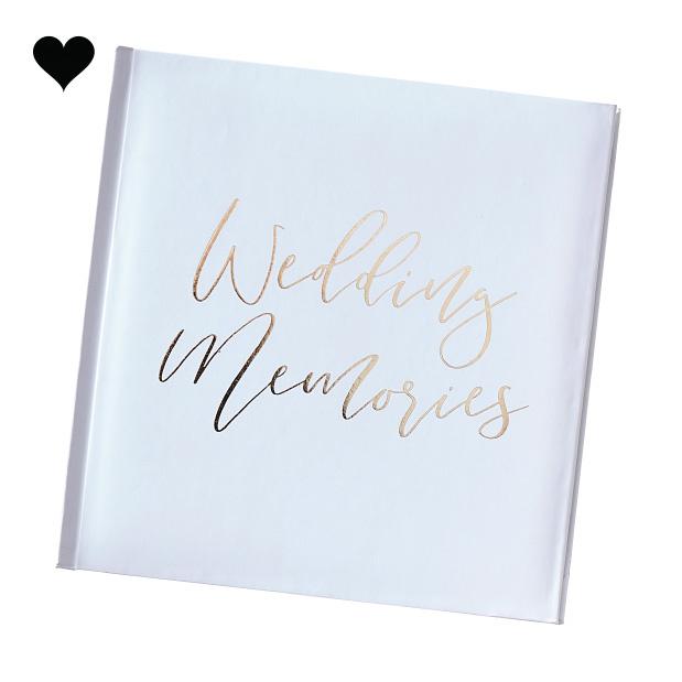 Fotoalbum Wedding Memories Gold Wedding - Ginger Ray-3