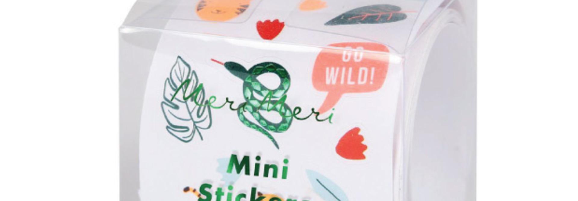 Stickers Go Wild (500 st) - Meri Meri