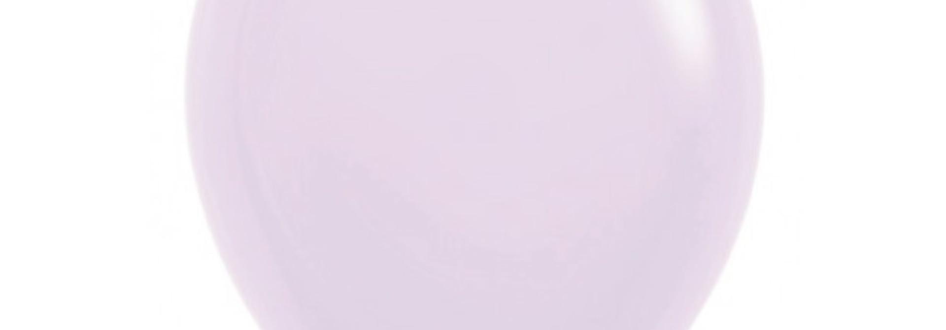 Ballonnen pastel mat lila (10 st)