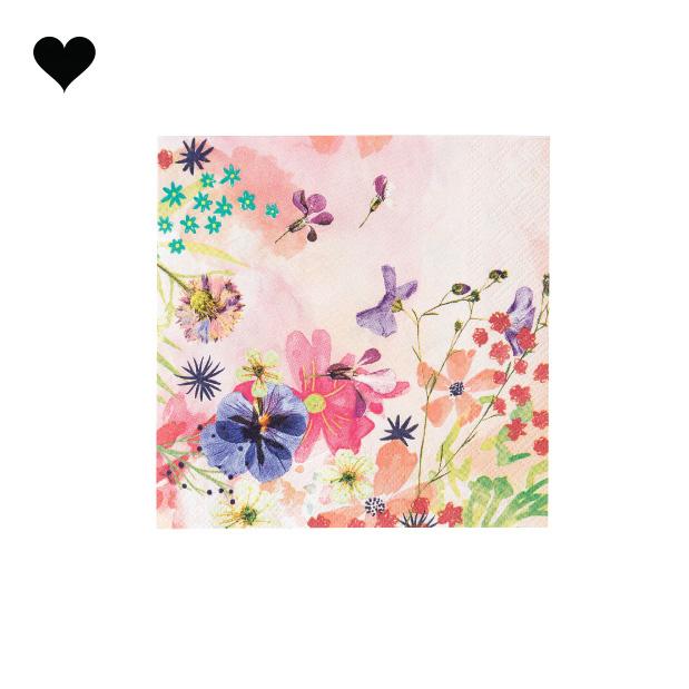 Gebaksservetten Blossom Girls (20 st) - Talking Tables-3