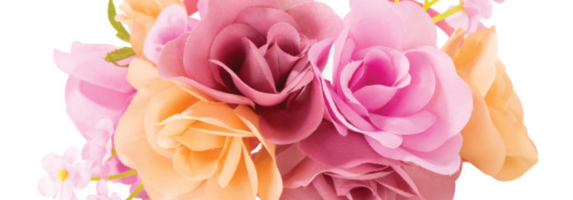 Bloemenkroon haarband Blossom Girls - Talking Tables