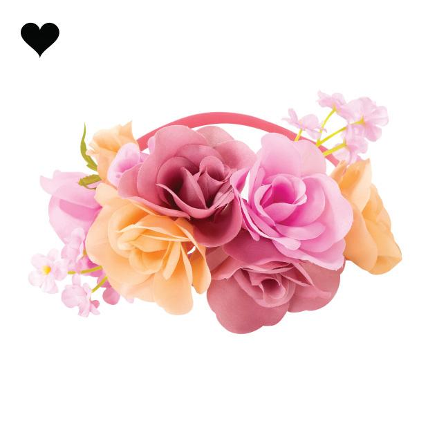 Bloemenkroon haarband Blossom Girls - Talking Tables-1