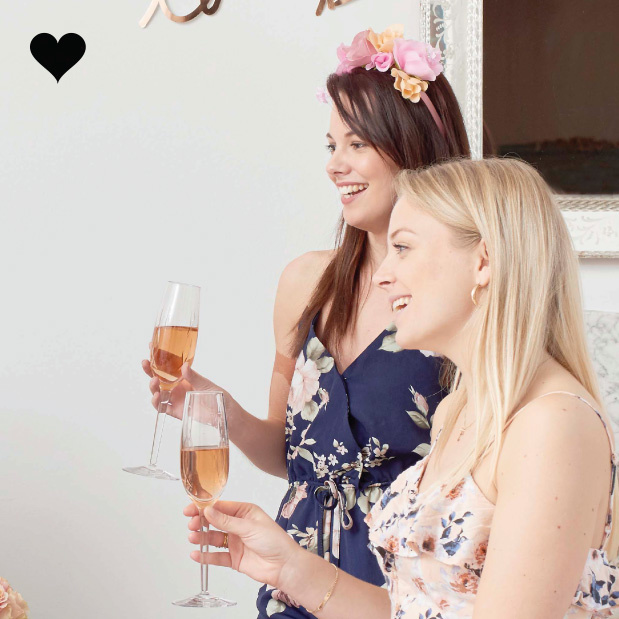 Bloemenkroon haarband Blossom Girls - Talking Tables-2