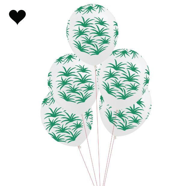 Tropical Fiesta ballonnen (5 st) - My Little Day-1