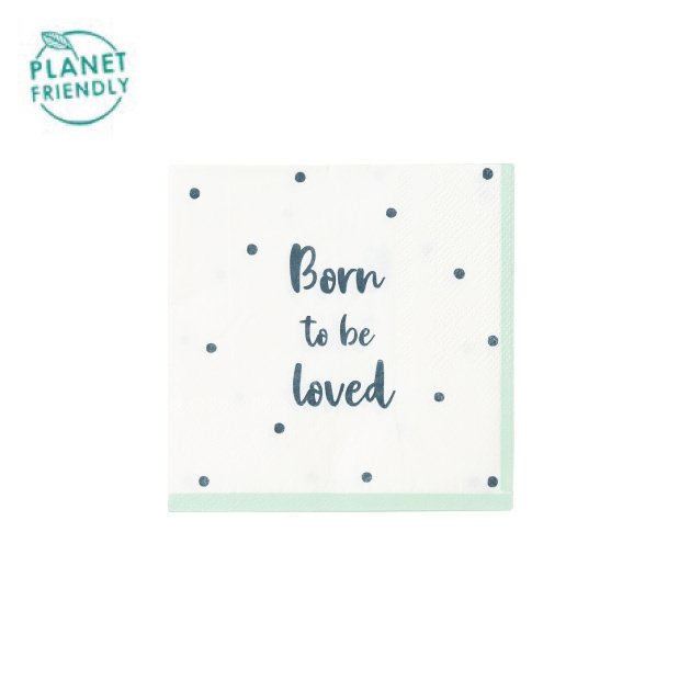 Servetten Born To Be Loved (20 st) - Talking Tables-1