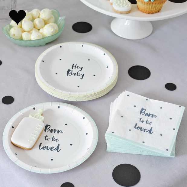 Servetten Born To Be Loved (20 st) - Talking Tables-2