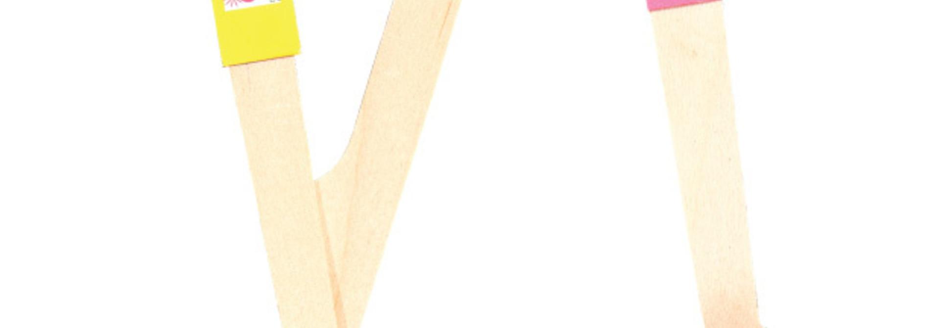 Houten Bestek Viva La Fiesta (18 st) - Ginger Ray