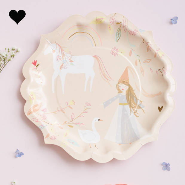 Borden Magical Princess (8 st) - Meri Meri-2