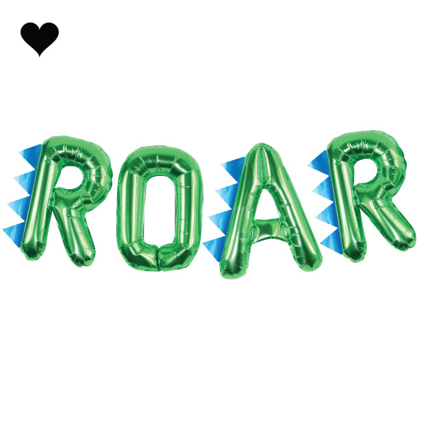 Folieballon ROAR Roarsome - Ginger Ray-2